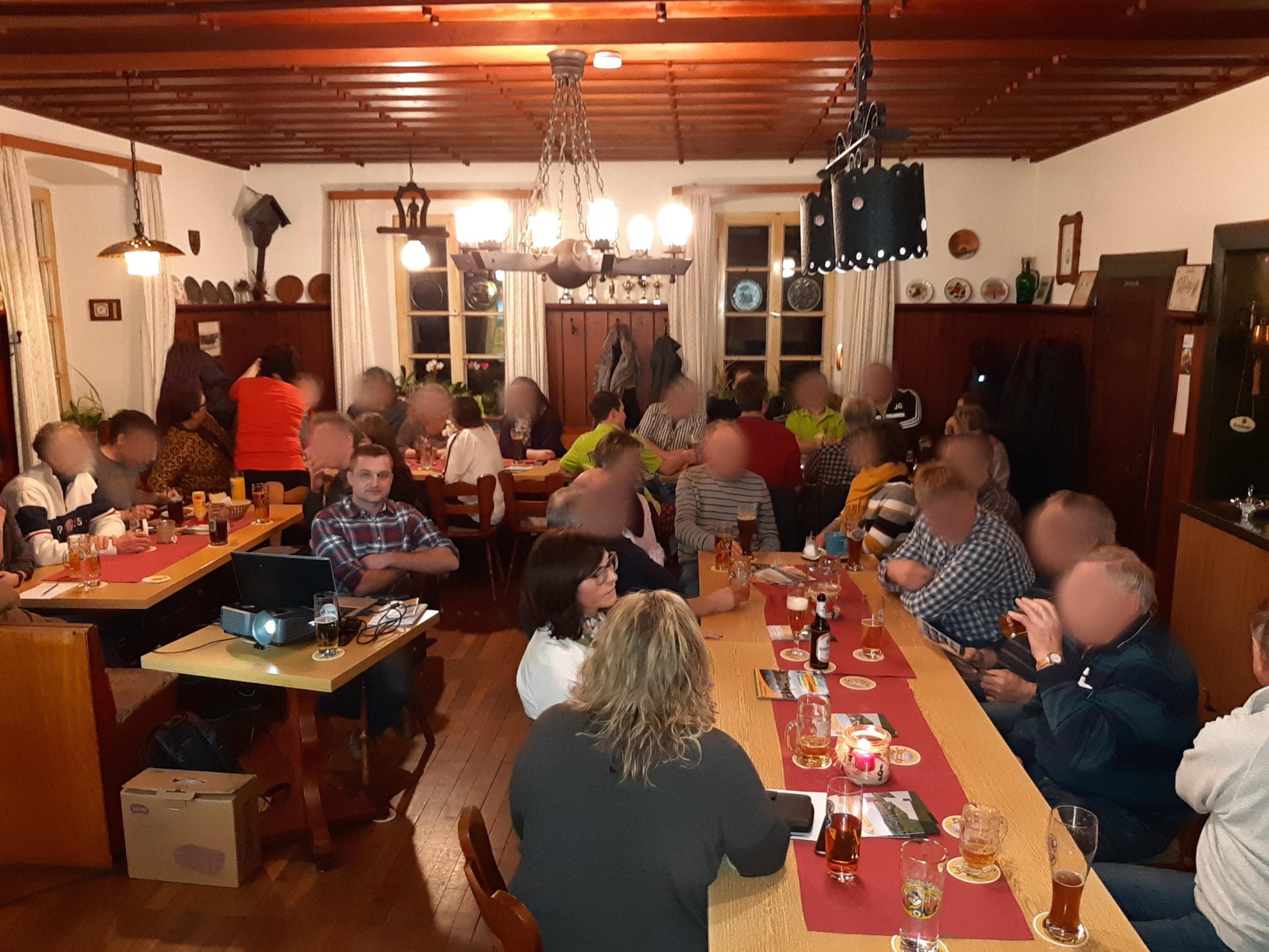 Informationsveranstaltung der FWG Schönsee und Umgebung am 21.02.2020 in Gaisthal